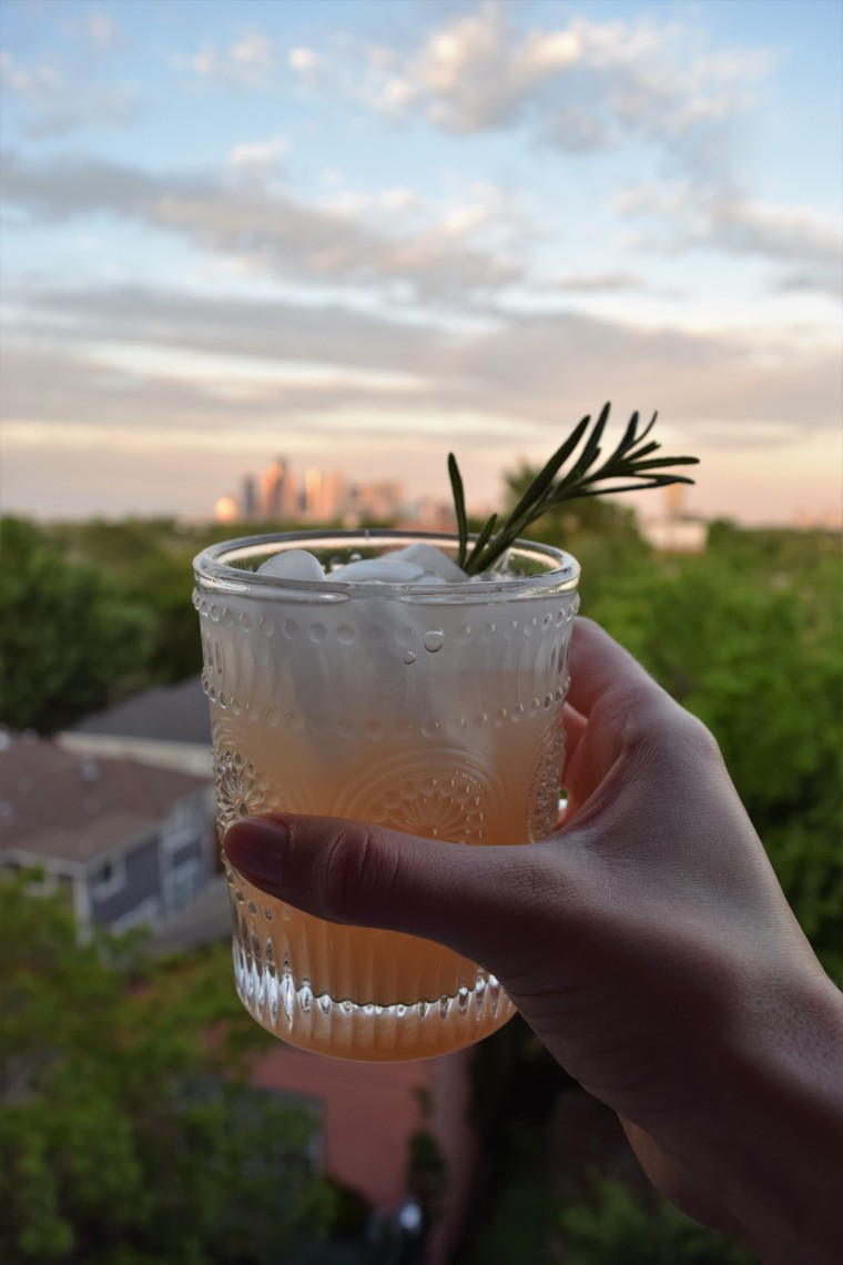 Gin and Grapefruit with Rosemary by Bunny Baubles Blog 6