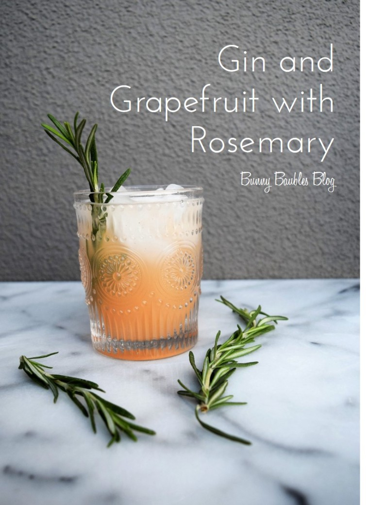 Gin and Grapefruit with Rosemary by Bunny Baubles