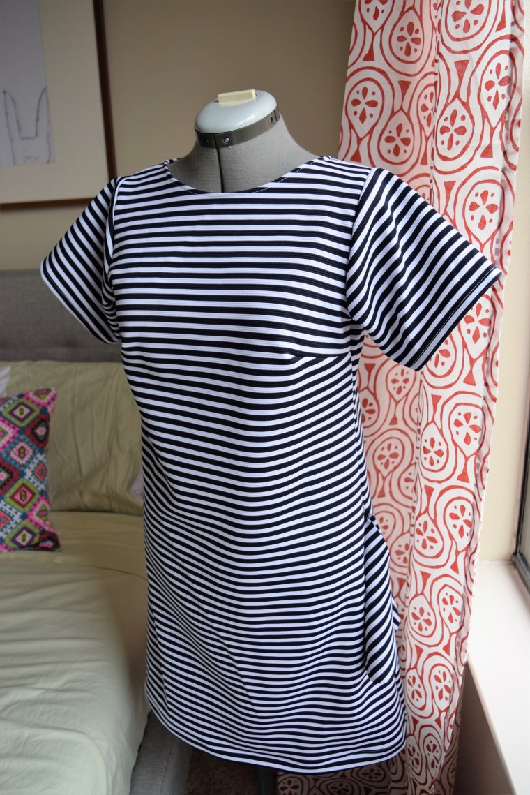 How to Add Pockets to a Dress Sewing Tutorial by Bunny Baubles Blog 1