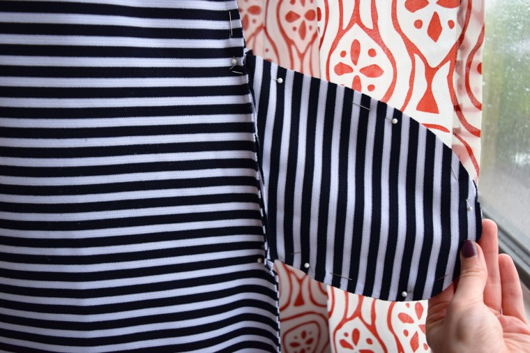 How to Add Pockets to a Dress Sewing Tutorial by Bunny Baubles Blog 3