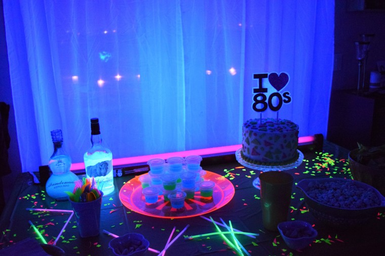 80's Blacklight Party by Bunny Baubles 1