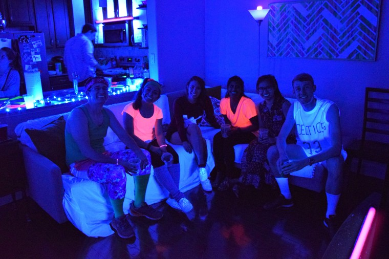 80's Blacklight Party by Bunny Baubles 5