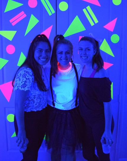 80's Blacklight Party by Bunny Baubles 6