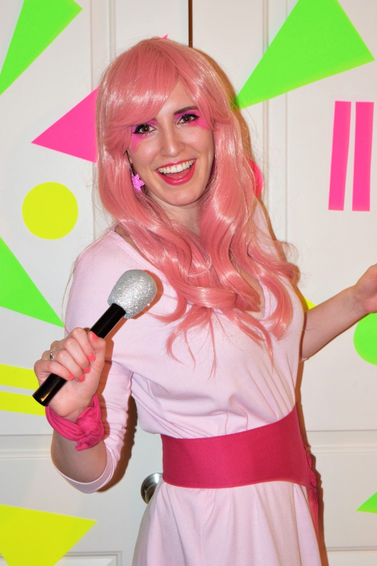 80s jem and the holograms costume diy by bunny baubles blog 1