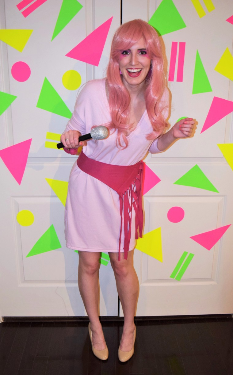 80s Jem and the Holograms Costume DIY by Bunny Baubles blog 3