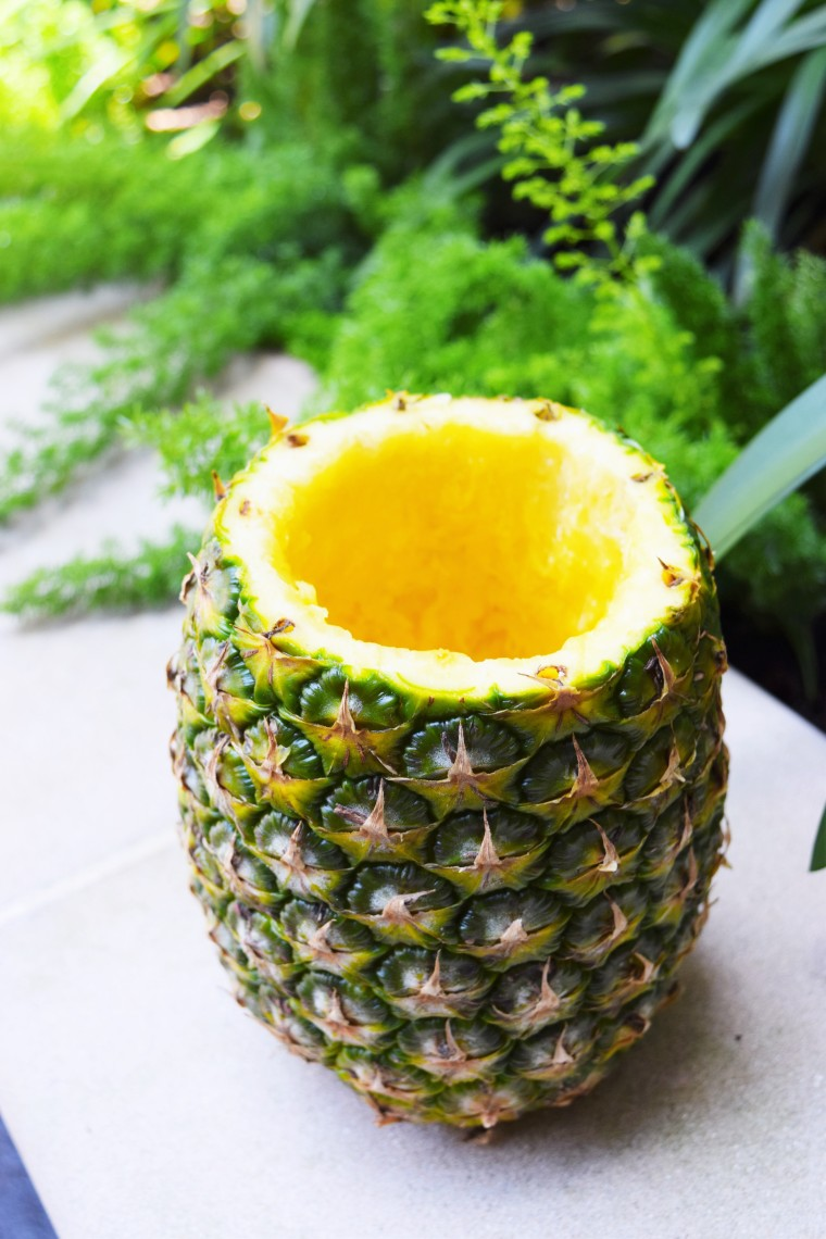 DIY Daiquiris in Pineapple Cups by Bunny Baubles 3