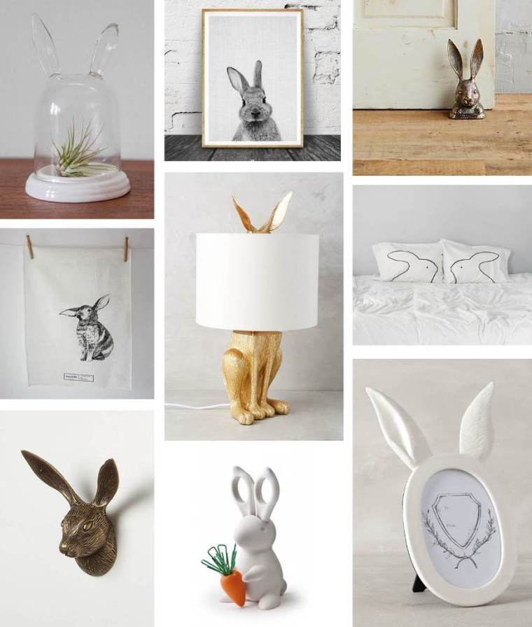 Bunny Decorations Roudup by Bunny Baubles