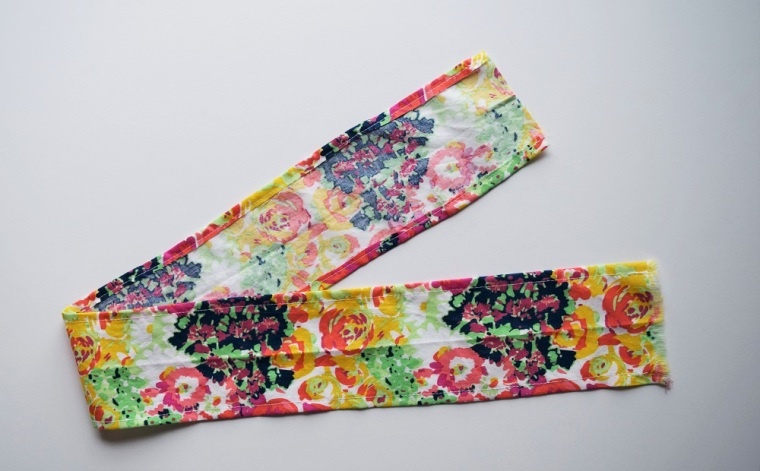 Floral Summer Skirt Sewing Tutorial by Bunny Baubles 2