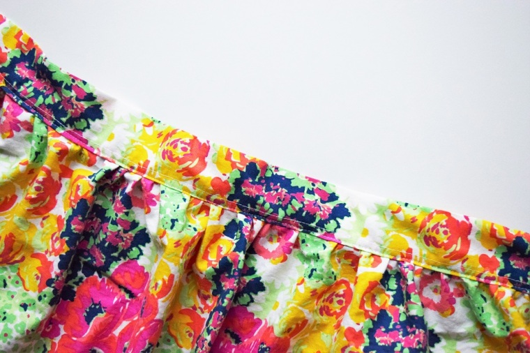 Floral Summer Skirt Sewing Tutorial by Bunny Baubles 3