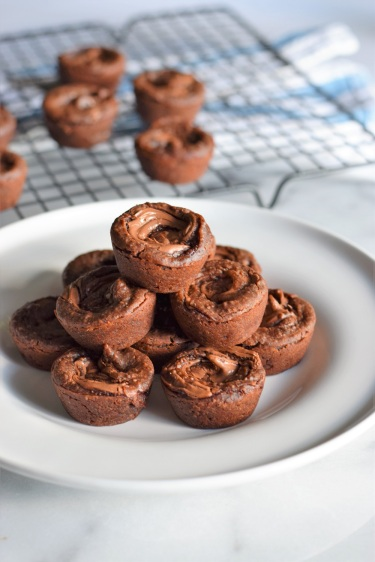Nutella Black Bean Brownies by Bunny Baubles 5