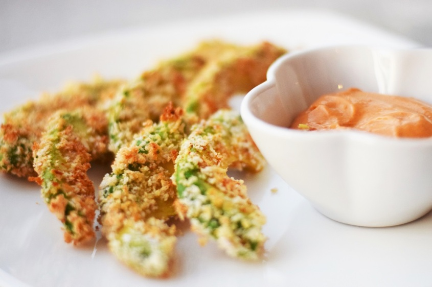 Avocado Fries with Chipotle Aioli by Bunny Baubles 4