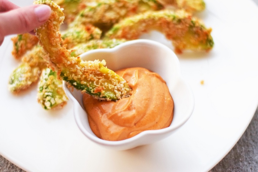 Avocado Fries with Chipotle Aioli by Bunny Baubles 5