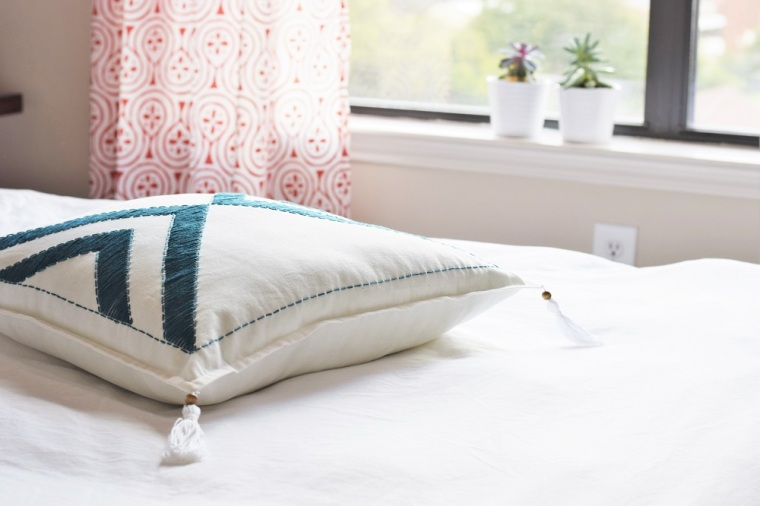 Embroidered Pillow Case DIY by Bunny Baubles 2