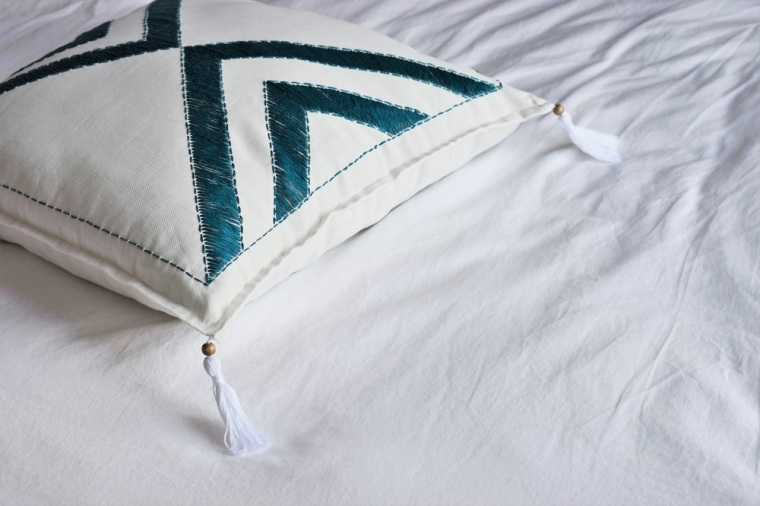Embroidered Pillow Case DIY by Bunny Baubles 3