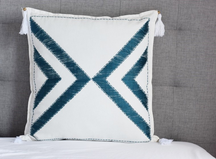 Embroidered Pillow Case DIY by Bunny Baubles 6