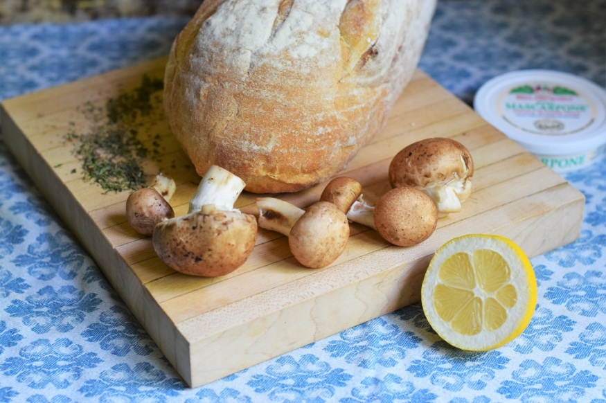 Mushroom Toast Copycat Tout Suite by Bunny Baubles 1
