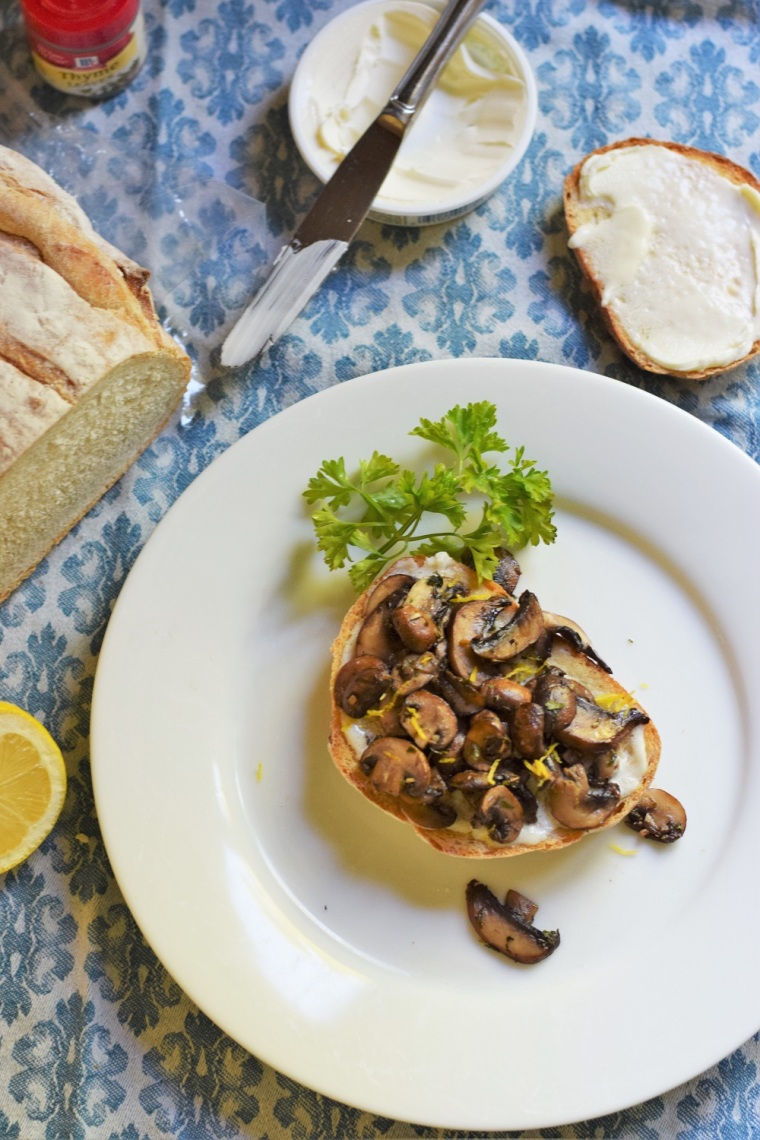 Mushroom Toast Copycat Tout Suite by Bunny Baubles 3
