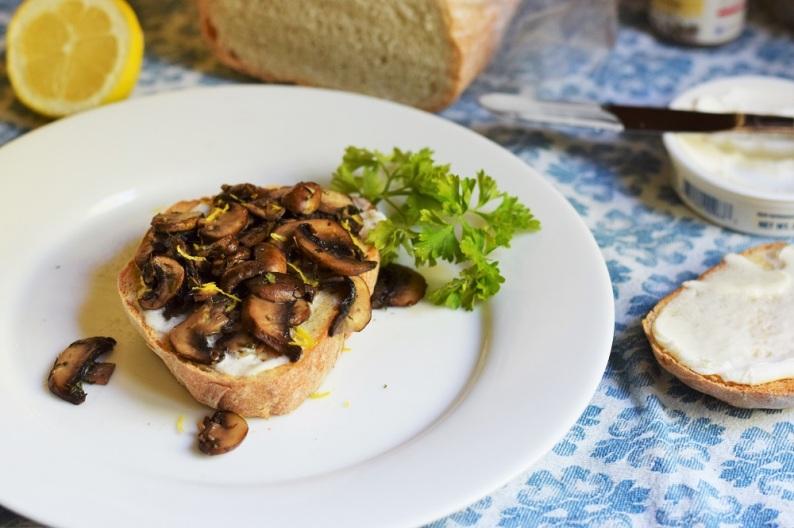 Mushroom Toast Copycat Tout Suite by Bunny Baubles 4