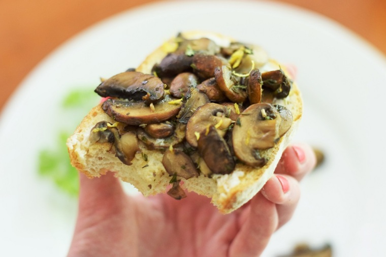 Mushroom Toast Copycat Tout Suite by Bunny Baubles 6