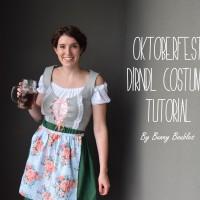 DIY Oktoberfest Dirndl Costume