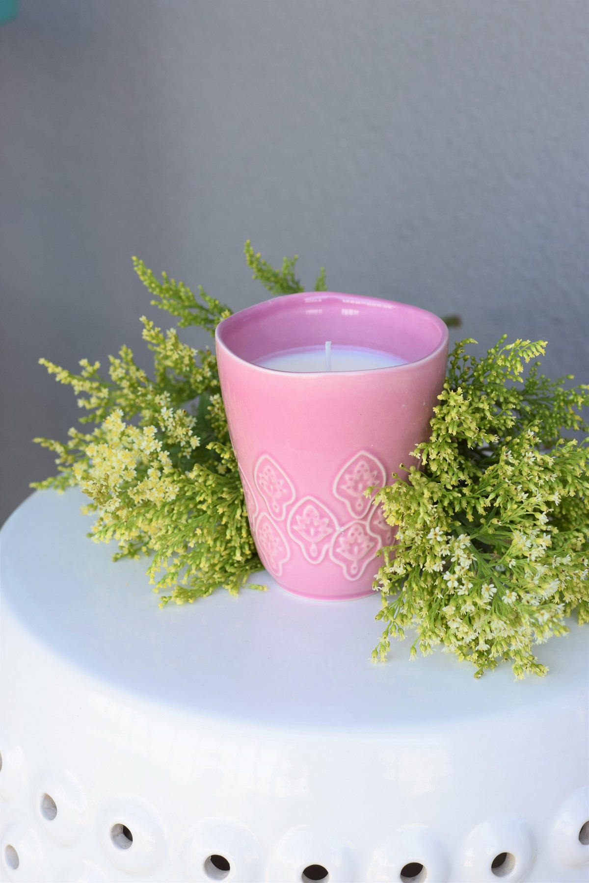how to make natural scented candles