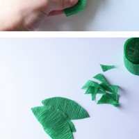 DIY Crepe Paper Vine Balloons
