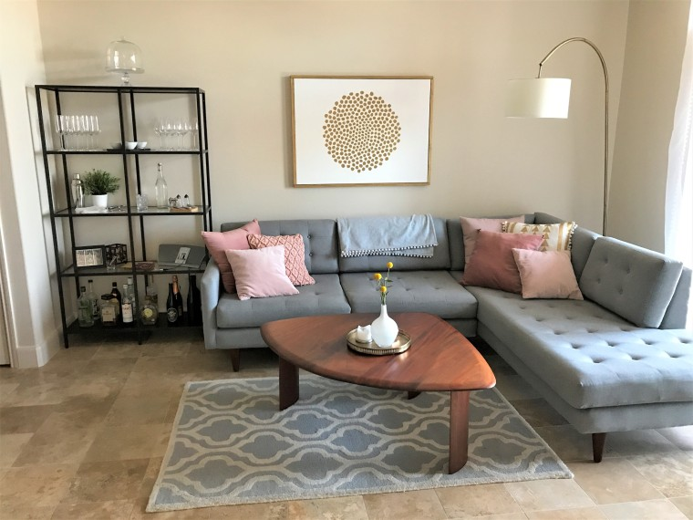 My Modern Bachelorette Pad Reveal Bunny Baubles