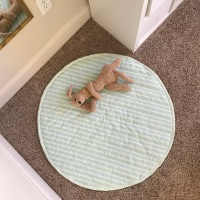 DIY Quilted Baby Play Mat Sewing Tutorial