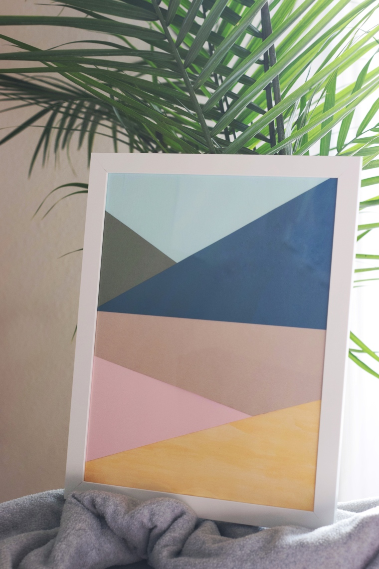 Easy DIY Geometric Artwork by Bunny Baubles 3