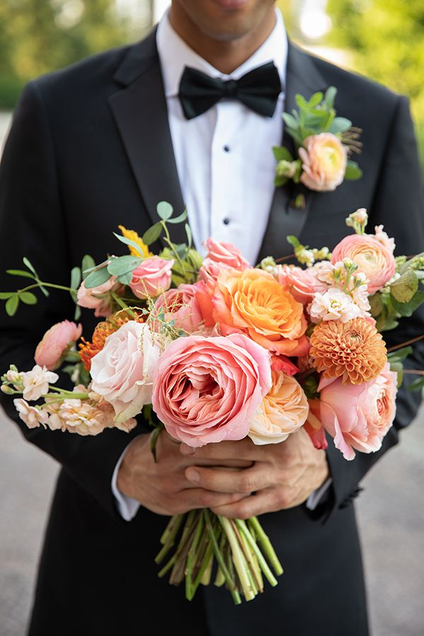 2019 Top Wedding Trends Featuring Living Coral _ Strictly Weddings