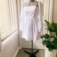 Bubble Sleeve Dress Sewing Tutorial